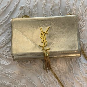 YSL Metallic Evening Bag